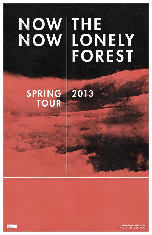 NOW, NOW  ||  THE LONELY FOREST || TBA