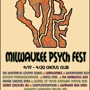 MILWAUKEE PSYCH FEST! Day 2, Early show(5pm) w/WOODSMAN, HEAVEN'S GATEWAY DRUGS, ELUSIVE PARALLELOGRAMS, SECRET COLOURS