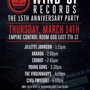 Wind-Up Records 15th Anniversary Party (Free w/ RSVP)