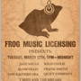  3rd Annual Frog Music Licensing Unofficial Showcase (FREE w/ RSVP on Do512!)