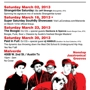 March Jazztronica! Saturdays