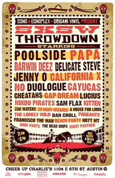 SXSW Throwdown V - THIS EVENT IS IN AUSTIN TEXAS