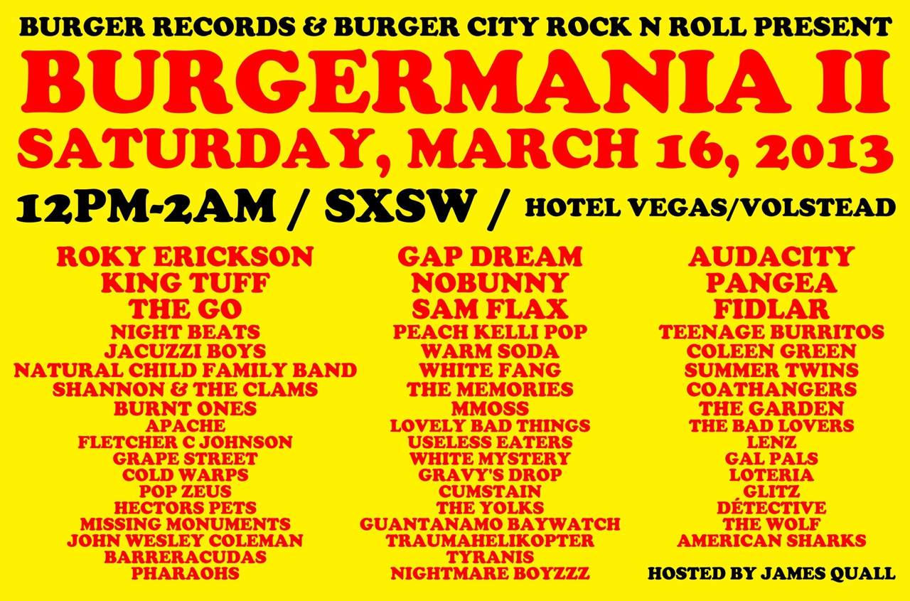 BURGERMANIA II (Free w/ RSVP on Do512)