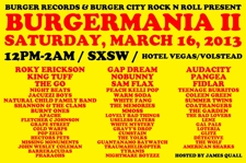 Burger Records and Burger City Rock n Roll present BURGERMANIA II (Free w/ RSVP on Do512)