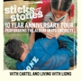  Sticks &amp; Stones 10th Anniversary Tour NEW FOUND GLORY, Cartel, Living, Lions