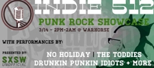 Indie 512  Punk Rock Showcase (FREE!)