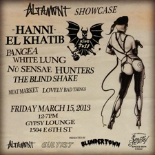 Altamont Unofficial Showcase at The Sailor Jerry House (Free w/ RSVP on Do512)
