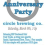 Circle Brew 2nd anniversary Party with Boy + Kite and Whitman