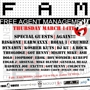 Assassin Ent x Free Agent Management DJ Showcase Part 2 (Free w/ RSVP on Do512)