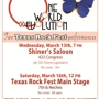  One World (R)evolution ROCKS The Heart of Texas Rock Fest at Shiner's Saloon