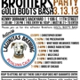  Wheeler Brothers Gold Boots Bash Presented by Lagunitas Brew Co.