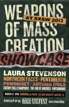 Weapons of Mass Creation Party/Showcase