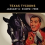 Texas Music Thursdays Present: Texas Tycoons