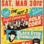  East Cameron Folkcore + Cunto! + Black Eyed Vermillion