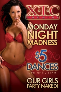 Monday Night Madness: $5 7-11 pm