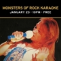  Monsters of Rock Karaoke