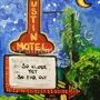 "Painting With a Twist - ""Austin Motel"""