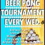 Beer Pong Tournament Every Wednesday- $3 SoCo Lime Shots