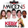 Maroon 5 with Kelly Clarkson, PJ Morton