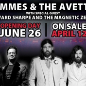 Avett Brothers + Violent Femmes with special guests Edward Sharpe and the Magnetic Zeros and Ivan & Alyosha