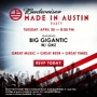 Budweiser Made in Austin BIG GIGANTIC Free Concert