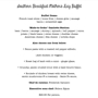 Southern Breakfast Mother's Day Buffet 29.95