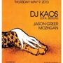 WE ARE MONSTER presents DJ KAOS, Mozhgan, Jason Greer