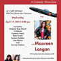 The Comikaze Lounge - with Maureen Langan April 17