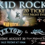 """$20 Best Night Ever"" U.S. Summer Tour Presents: Kid Rock with ZZ Top and Uncle Kracker"