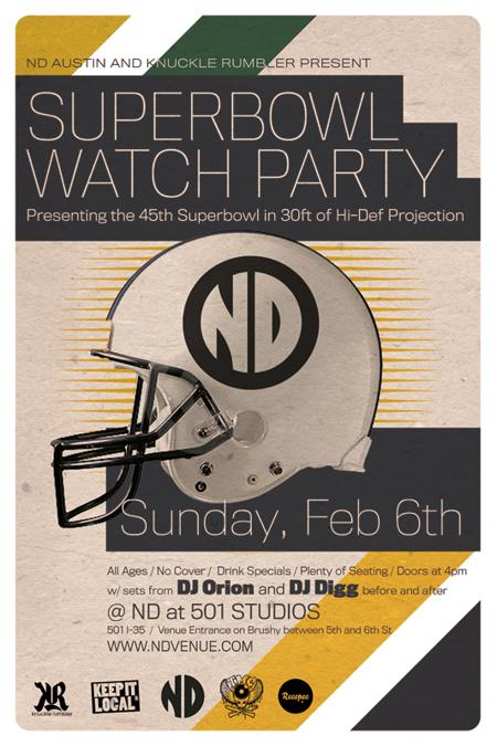 SuperBowl Party at ND!