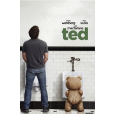 2 TED SQUARE poster Eat, See, Here presents the movie: Ted