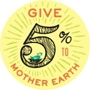 Give 5% to Mother Earth