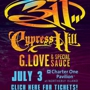 311 with Cypress Hill and G Love and Special Sauce