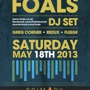  FOALS (DJ SET) - GREG CORNER - REDUX - FLEEGE