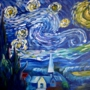 Pinot's Palette - Paint and sip! Van Gogh's Starry Night