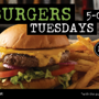  $1 Burger Tuesdays