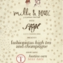  MILLIE &amp; MOX HOSTS A FASHIONISTA'S CHAMPAGNE &amp; HIGH TEA EVENING