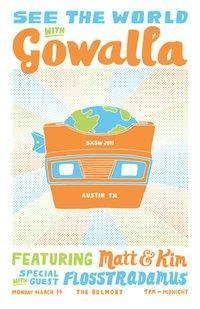 See The World with Gowalla: Featuring Matt & Kim (Free)