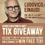 KCRW Presents Ludovico Einaudi