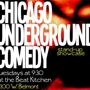  CHICAGO UNDERGROUND COMEDY: Featuring Chicago's Top Alternative Comics!! (Upstairs)