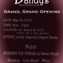  Dandy's Grand, Grand Opening
