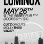 Certified Dope w/ Luminox, Cutz on Cuts, Molly Bass, Vader