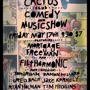 The Cactus Club Comedy & Music Show with Mortgage Freeman & Filtharmonic