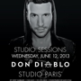 Studio Sessions Presents:  Don Diablo