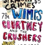 Wimps, Courtney and the Crushers, Straight Crimes @ 1-2-3-4 Go Records