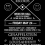 Girls & Boys with Gesaffelstein + Brodinski + LOUISAHHH!!! + Alex English