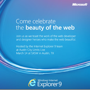 Celebrate the Beauty of the Web w/ Internet Explorer 9 (Free)
