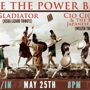  Take the Power Back, GLADIATOR (a Jesus Lizard Tribute) and Cio Cio San &amp; the Half Japanese Girls (A weezer Tribute)