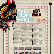 Lower Haight Summer Art Walk