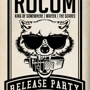 TO DIE FOR PRESENTS I AM ROCOM RELEASE PARTY Rocom, King of Somewhere, Wafeek, The Scares